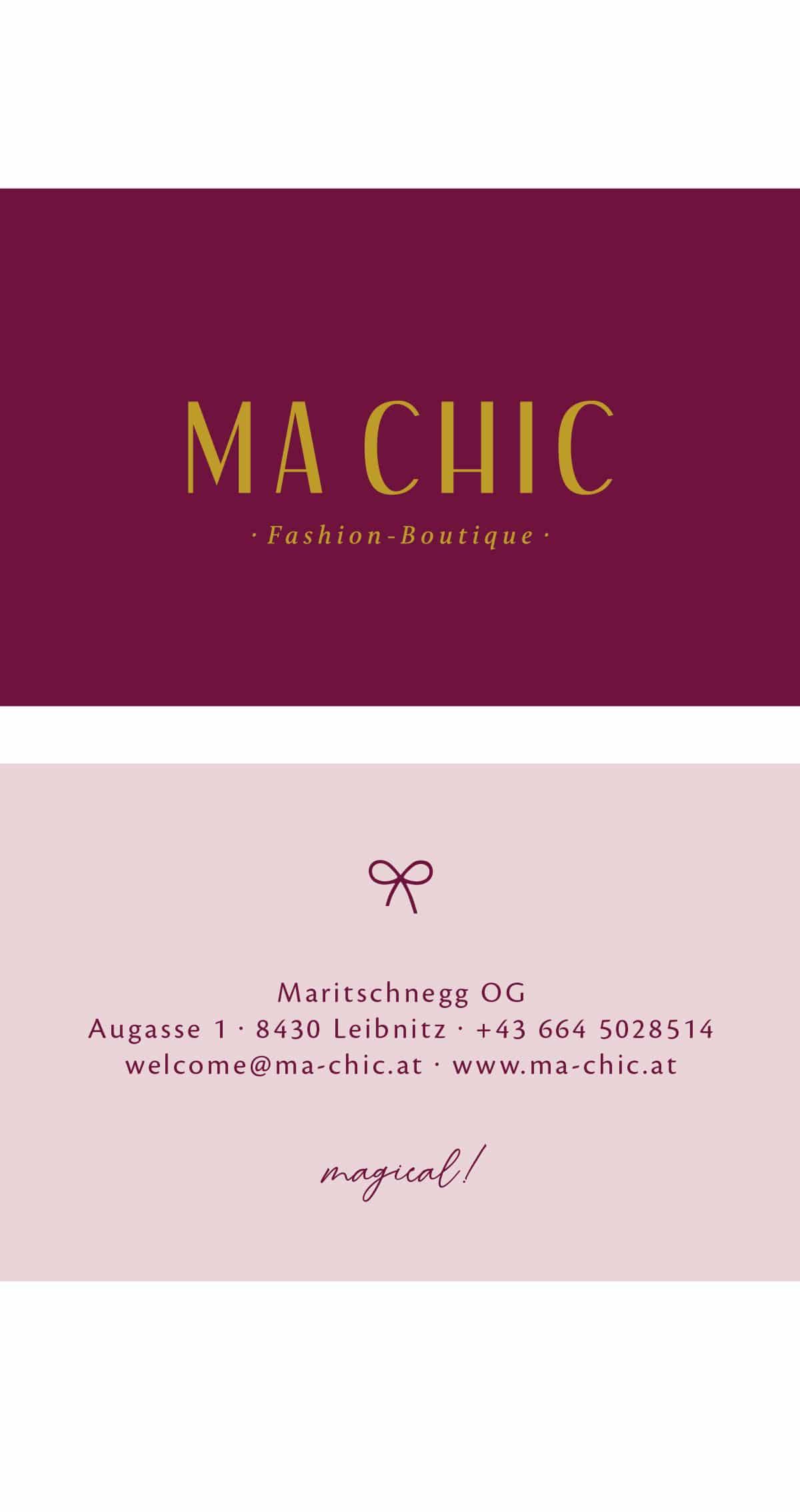 MA CHIC – Einkaufen in Leibnitz