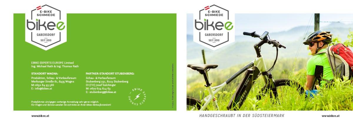 E-Bikes von bikee Österreich