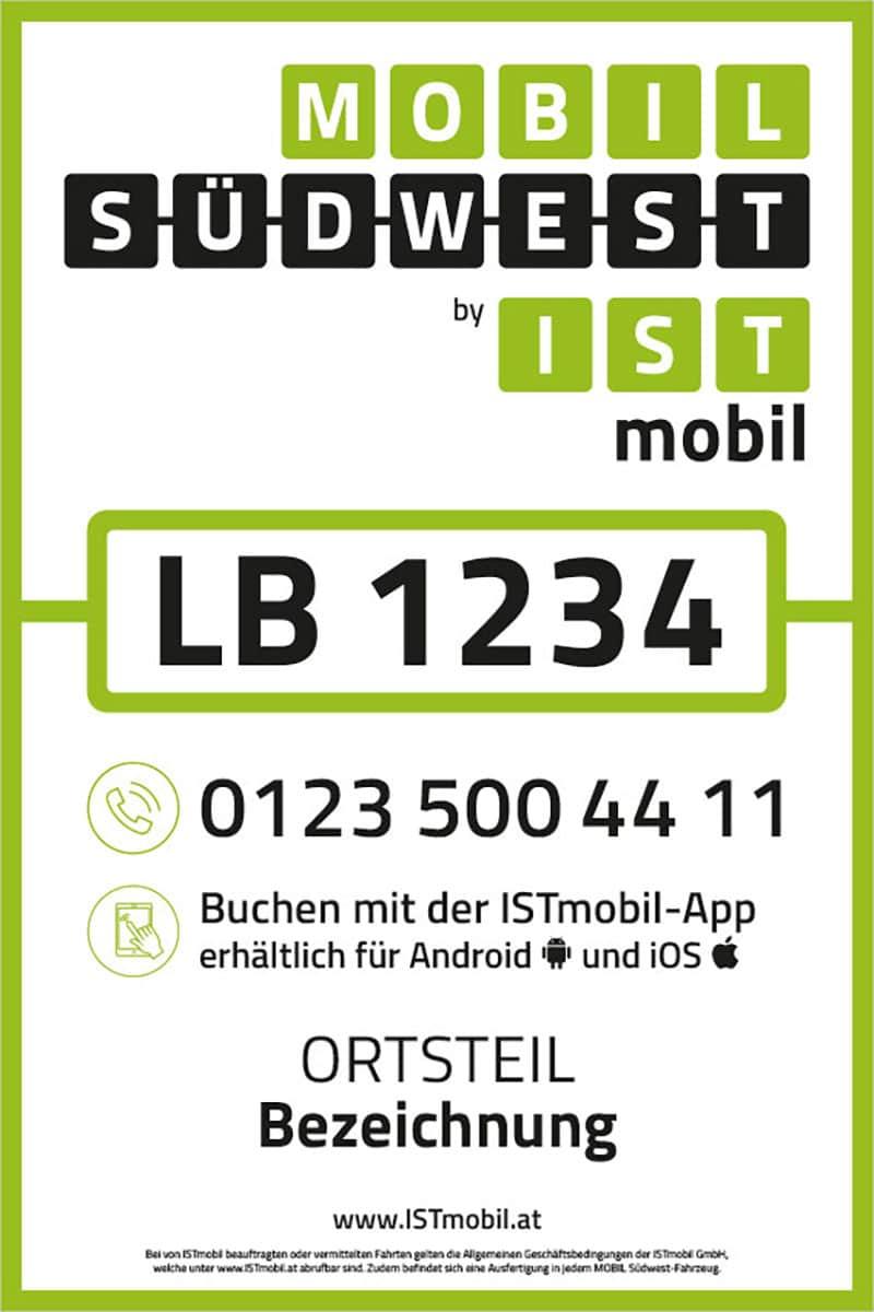 Mobil Südwest – Grafik