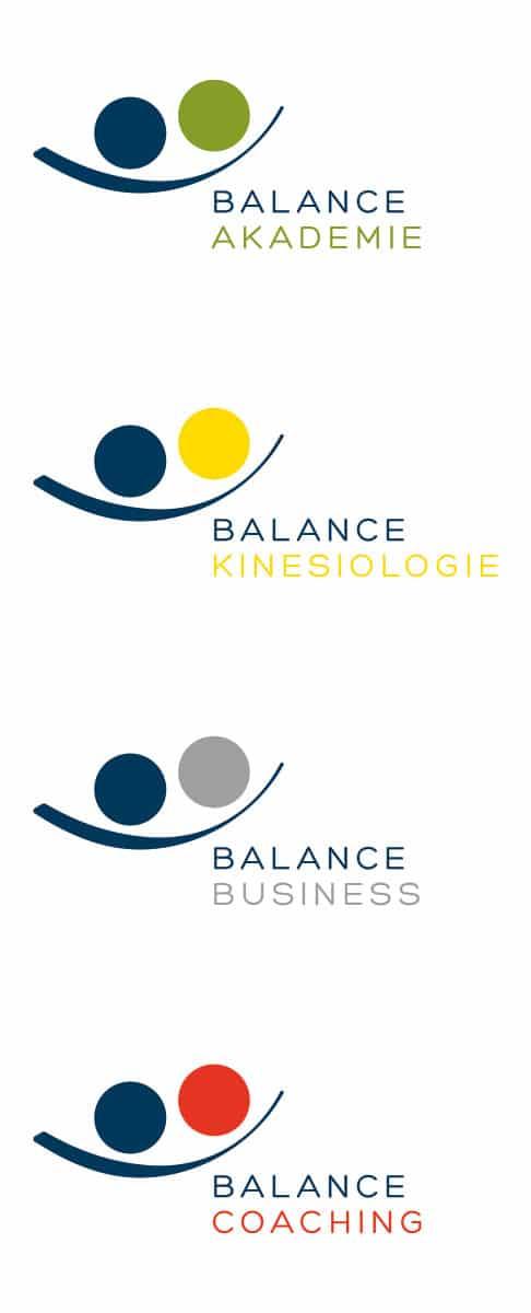 Logos Ausbildungen – Balance Akademie