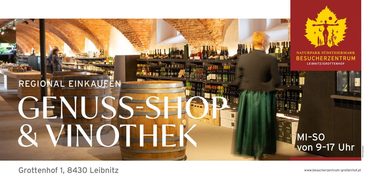 Genuss-Shop & Vinothek – Grottenhof Leibnitz