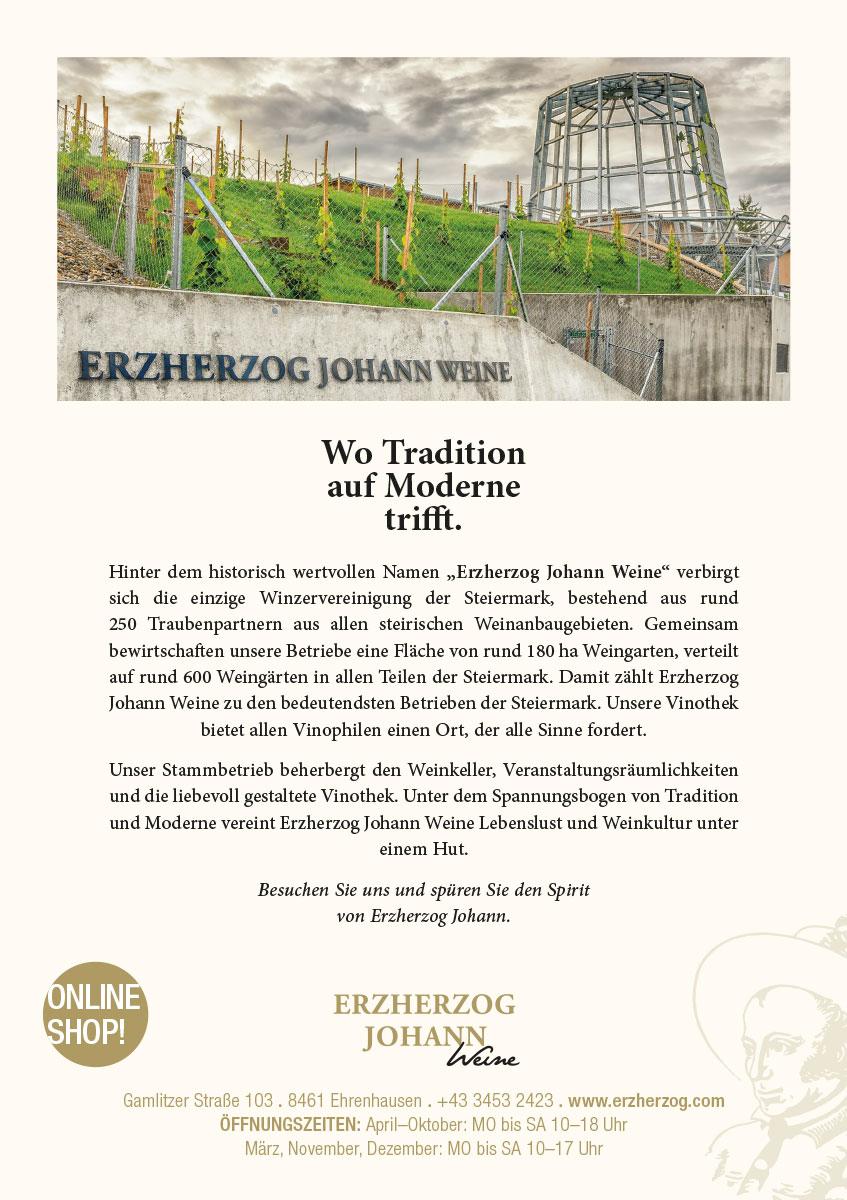 Erzherzog Johann Weine – Ehrenhausen